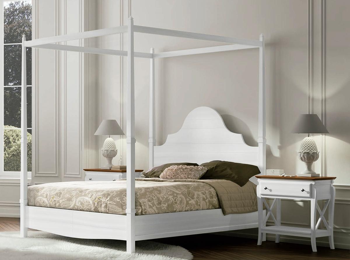 Dormitorios modelo hugo muebles la fabrica for Camas con cortinas