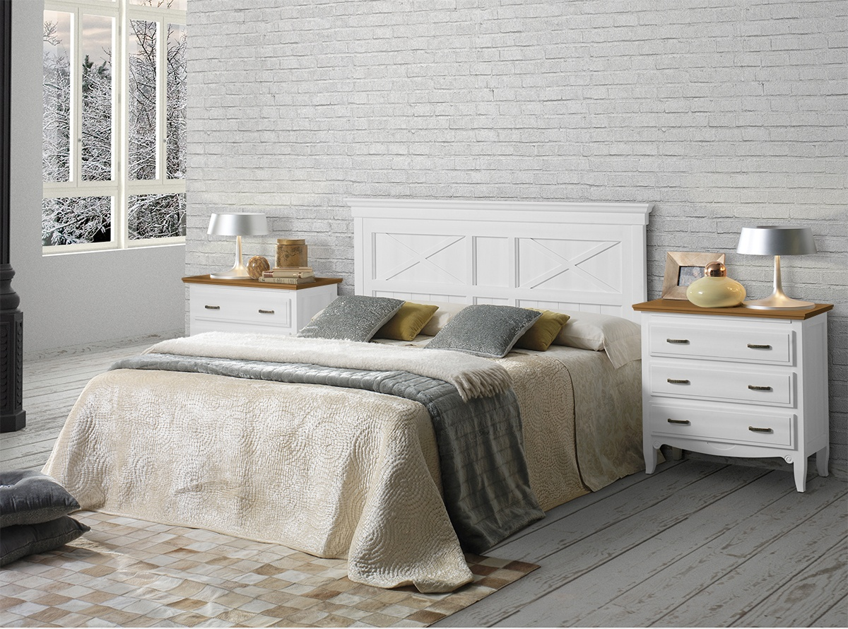 Dormitorio matrimonio jerian dormitorios muebles la - Muebles de dormitorio blancos ...