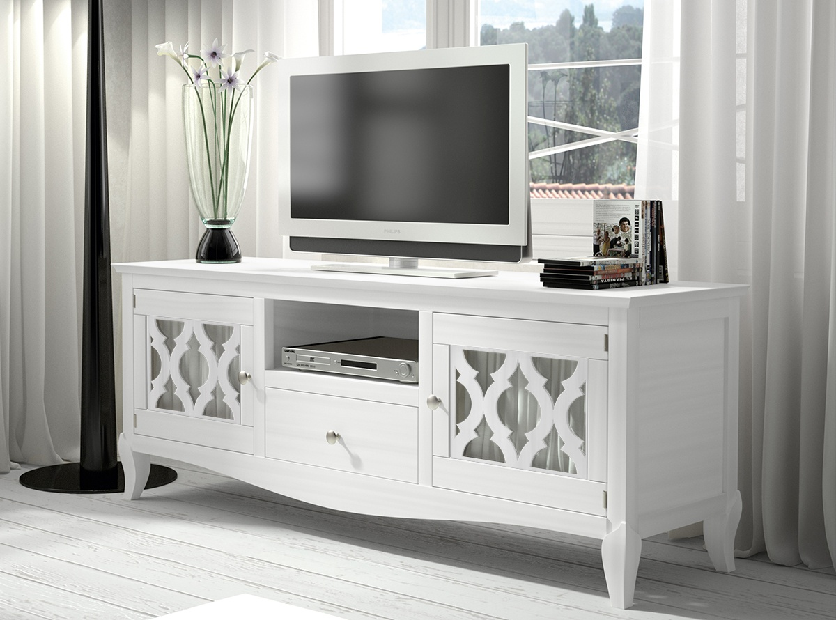 Mueble tv juno muebles salon muebles la fabrica for Decoracion mueble tv