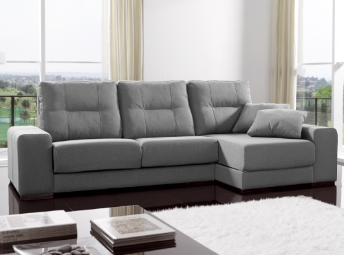Sofas sillones y chaise longue muebles la fabrica for Muebles la fabrica vic