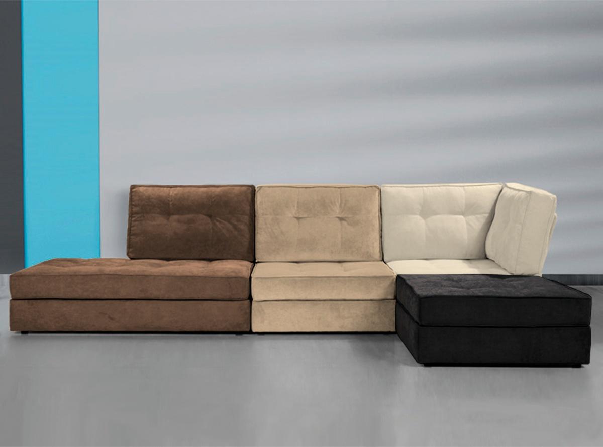 Sof modular mondrian sofas y sillones muebles la f brica for Sofa modular jardin