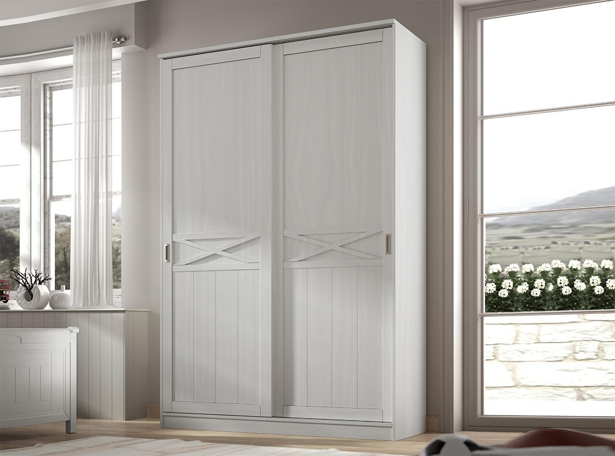 Armario rolam dormitorios juveniles muebles la f brica - Armario dormitorio blanco ...