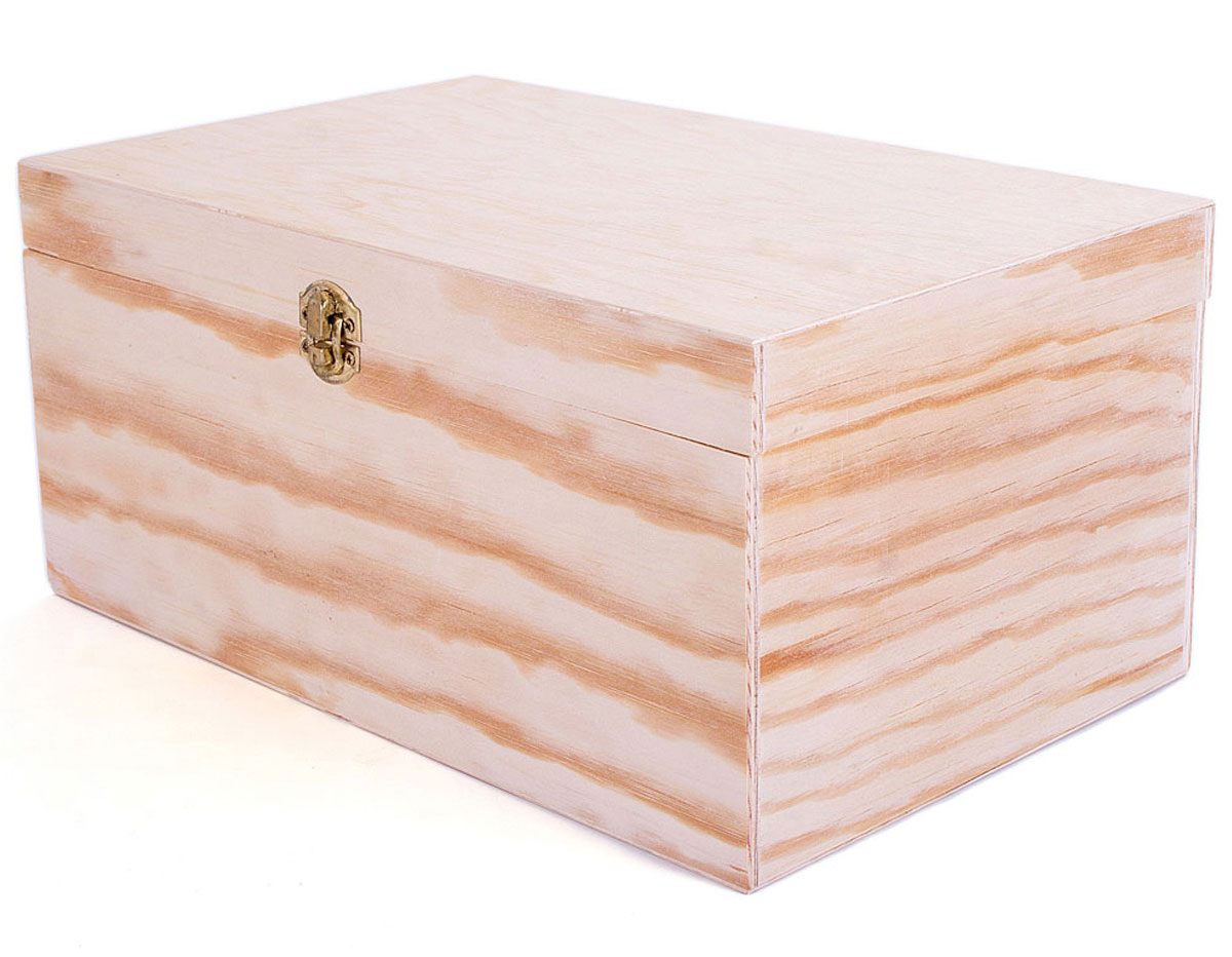 Cajas y baules de madera material para manualidades - Cajas para manualidades ...
