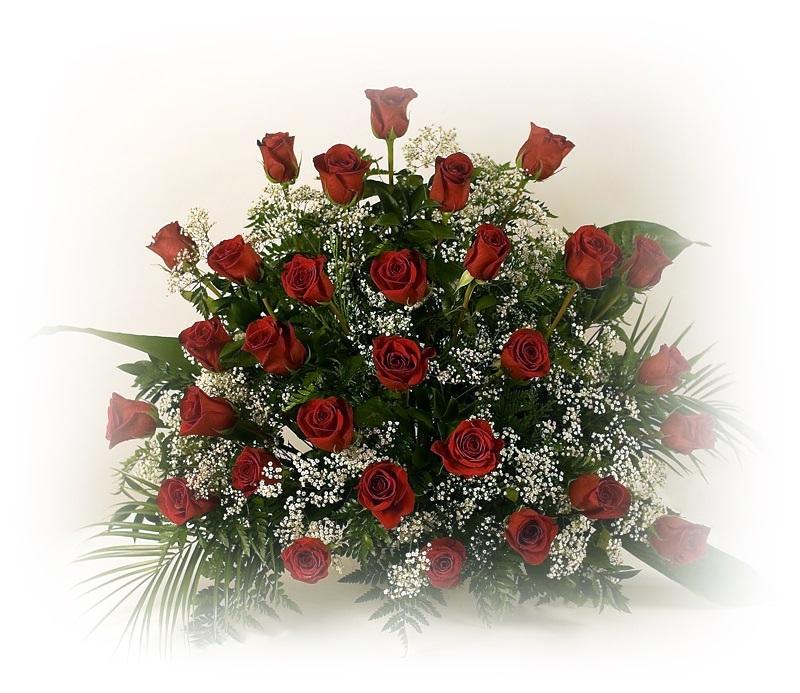 Centros de flores para funerales - Centros de flores naturales ...