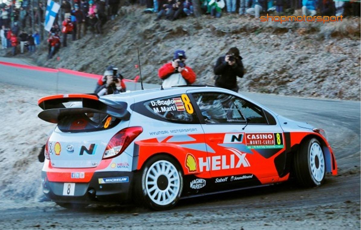 HYUNDAI i20 WRC / IXO RAM 569 / DANI SORDO-MARC MARTI // OUT OF STOCK
