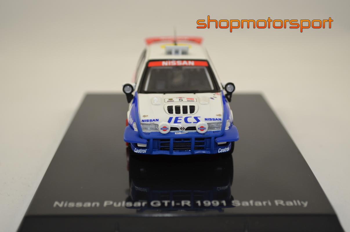 NISSAN PULSAR GTI-R Gr.A / NOREV PM0074 / STIG BLOMQVIST-BENNY MELANDER