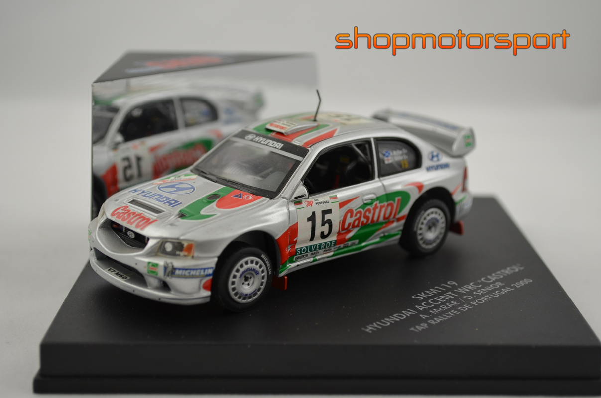 HYUNDAI ACCENT WRC / SKID SKM119 / ALISTER McRAE-DAVID SENIOR // OUT OF STOCK