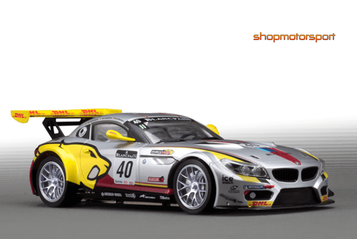 BMW Z4 GT3 / SCALEAUTO 7059 / MARKUS PALTTALA-BAS LEINDERS-MAXIME MARTIN