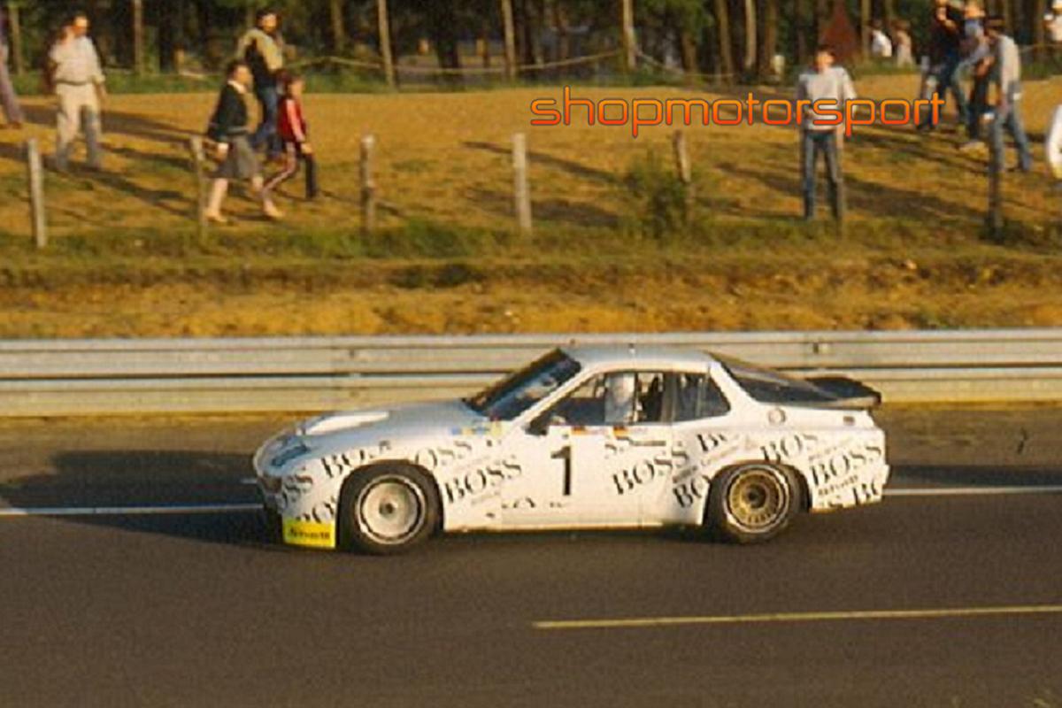 PORSCHE 924 GTP / FALCON SLOT CARS 02003 / JÜRGEN BARTH-WALTER RÖHRL