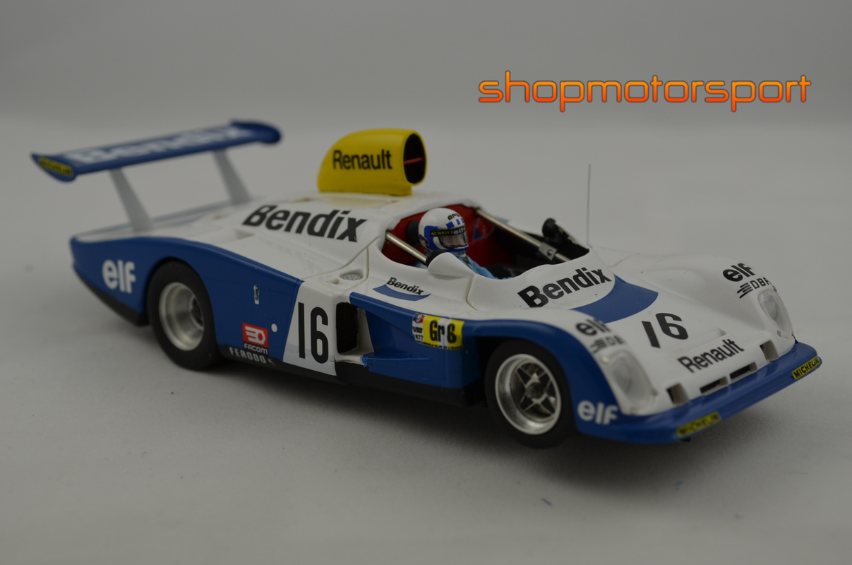 ALPINE RENAULT A442 / LE MANS MINIATURES LM-132077A / RENE ARNOUX-DIDIER PIRONI-GUY FREQUELIN // OUT OF STOCK