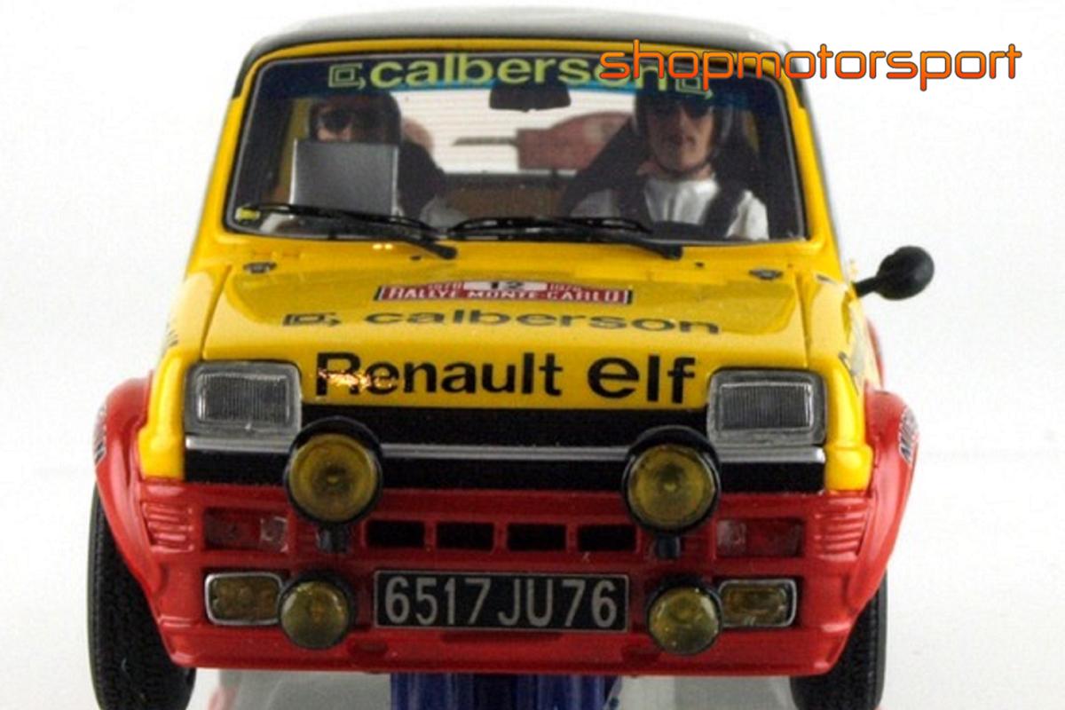 RENAULT 5 ALPINE / LE MANS MINIATURES LM-GTS132003 / GUY FREQUELIN-JACQUES DELAVAL