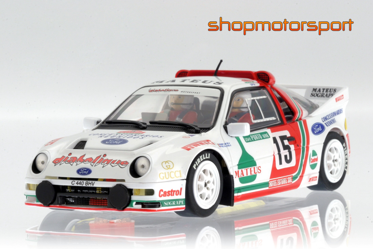 FORD RS200 Gr.B / MSC 6018 / JOAQUIM SANTOS-MIGUEL OLIVEIRA // OUT OF STOCK