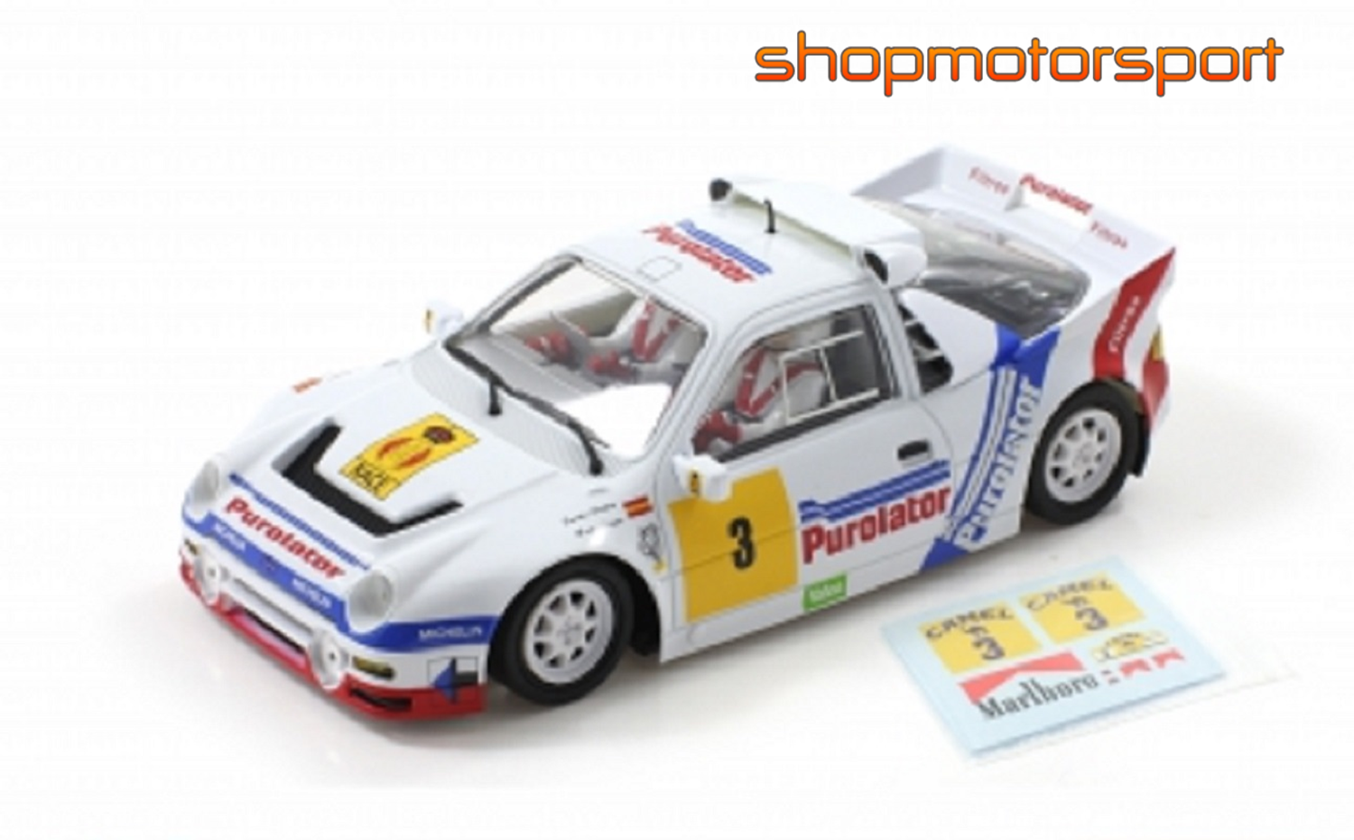 FORD RS200 Gr.B / SCALEAUTO 6185 / CARLOS SAINZ-ANTONIO BOTO