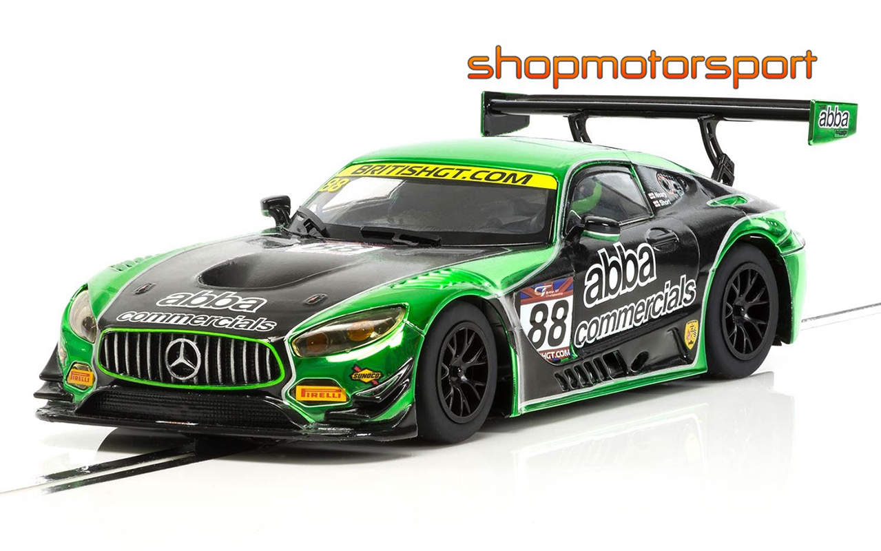 MERCEDES AMG GT3 / SCALEXTRIC SUPERSLOT 3942 / MARTIN SHORT-RICHARD NEARY