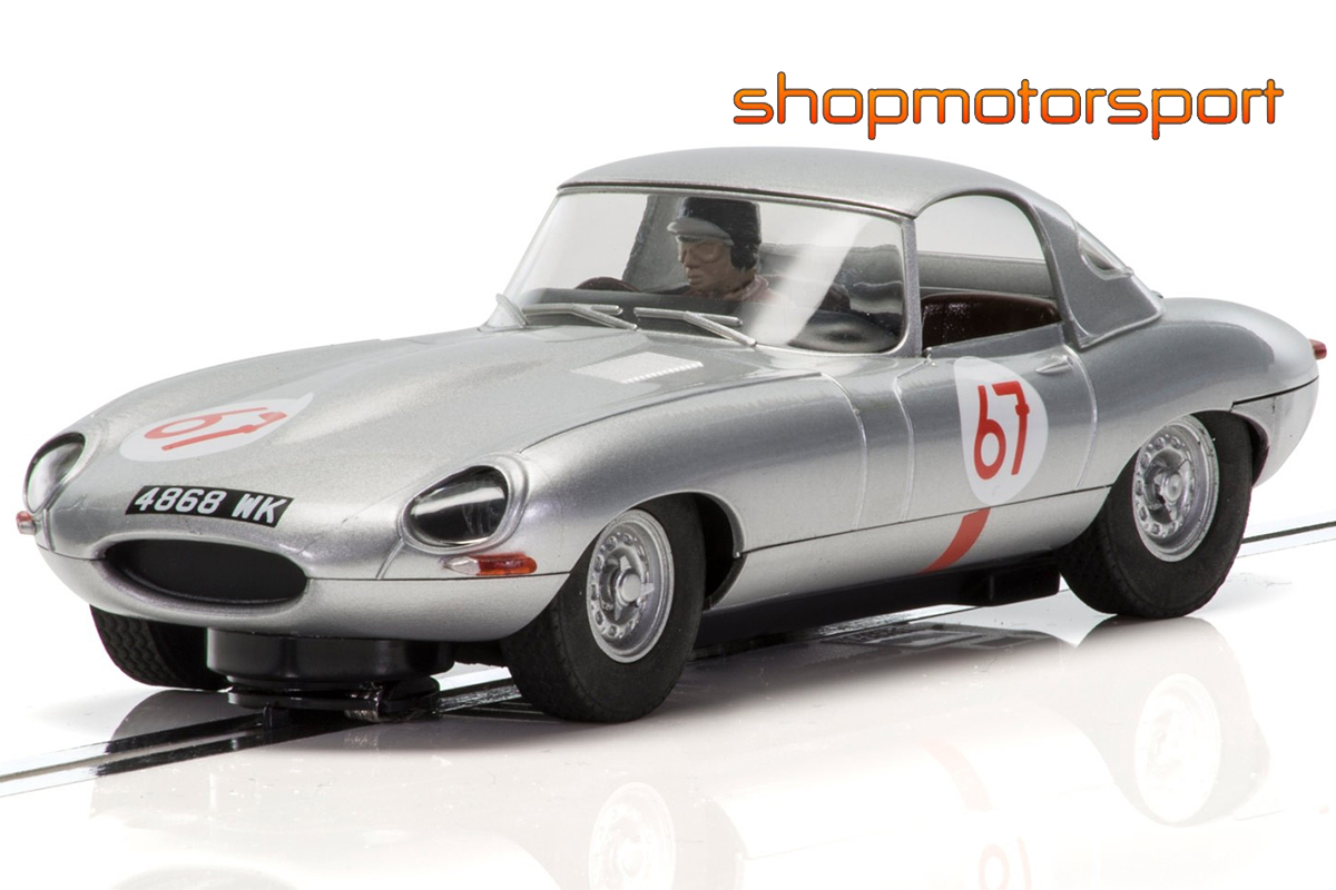 JAGUAR E-TYPE / SCALEXTRIC SUPERSLOT 3952 / PETER LINDNER-PETER NOCKER