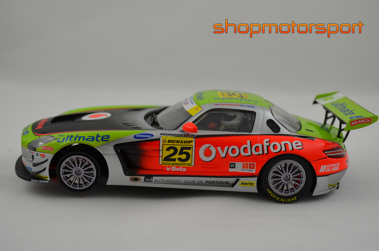 MERCEDES BENZ SLS AMG GT3 / SCALEAUTO 6022R / JOSE PEDRO FONTES-MIGUEL BARBOSA // OUT OF STOCK