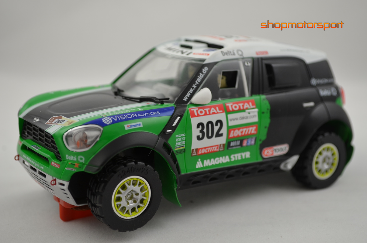 MINI ALL 4 RACING / SCALEAUTO 6092 / STEPHANE PETERHANSEL-JEAN PAUL COTTRET