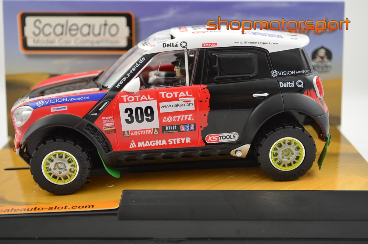 MINI ALL 4 RACING / SCALEAUTO 6111 / RICARDO LEAL DOS SANTOS-PAULO FIUZA