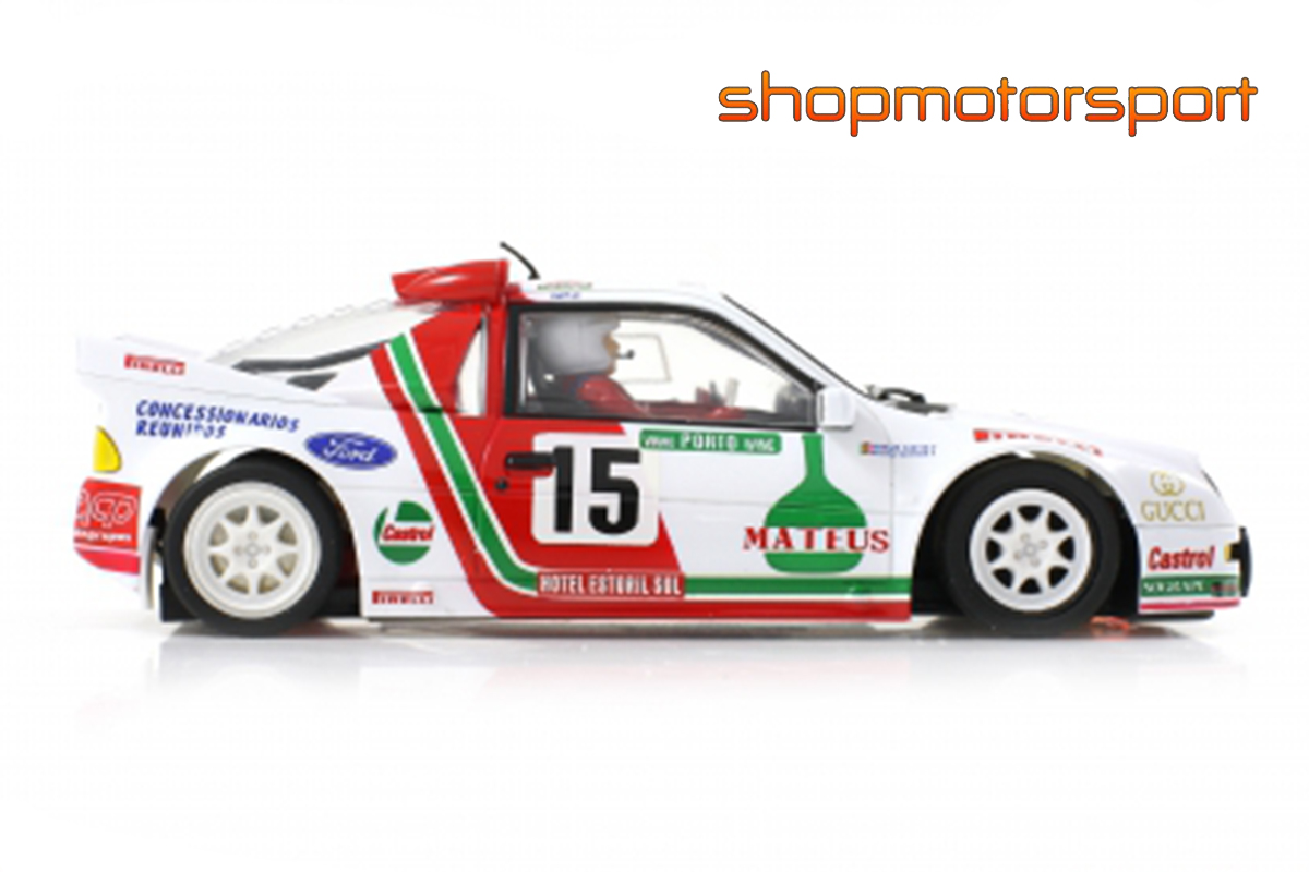 FORD RS200 Gr.B / SCALEAUTO 6156R / JOAQUIM SANTOS-MIGUEL OLIVEIRA