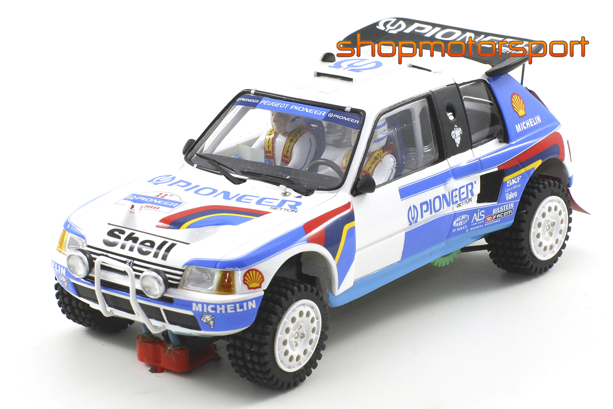 PEUGEOT 205 T16 GRAND RAID / SCALEAUTO 6106 / GUY FREQUELIN-FENOUIL / PHILIPPE WAMBERGUE-ALAIN GUEHENNEC