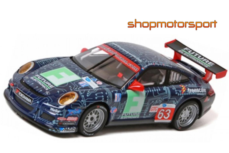 PORSCHE 911 GT3 / SCALEXTRIC SCX A10037X300 / HENRI RICHARD-ANDY LALLY-DUNCAN ENDE