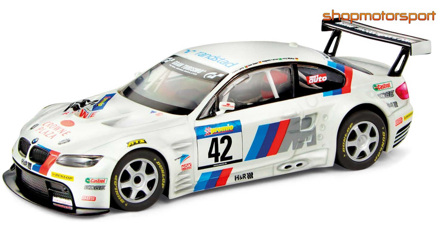 BMW M3 GT2 / SCALEXTRIC A10156X300 / JORG MULLER-AUGUSTO FARFUS-UWE ALZEN-PEDRO LAMY