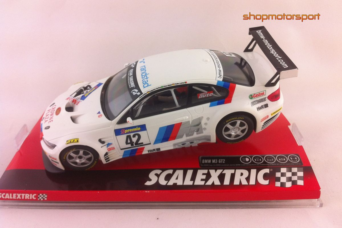 BMW M3 GT2 / SCALEXTRIC A10156S300 / JORG MULLER-AUGUSTO FARFUS-UWE ALZEN-PEDRO LAMY