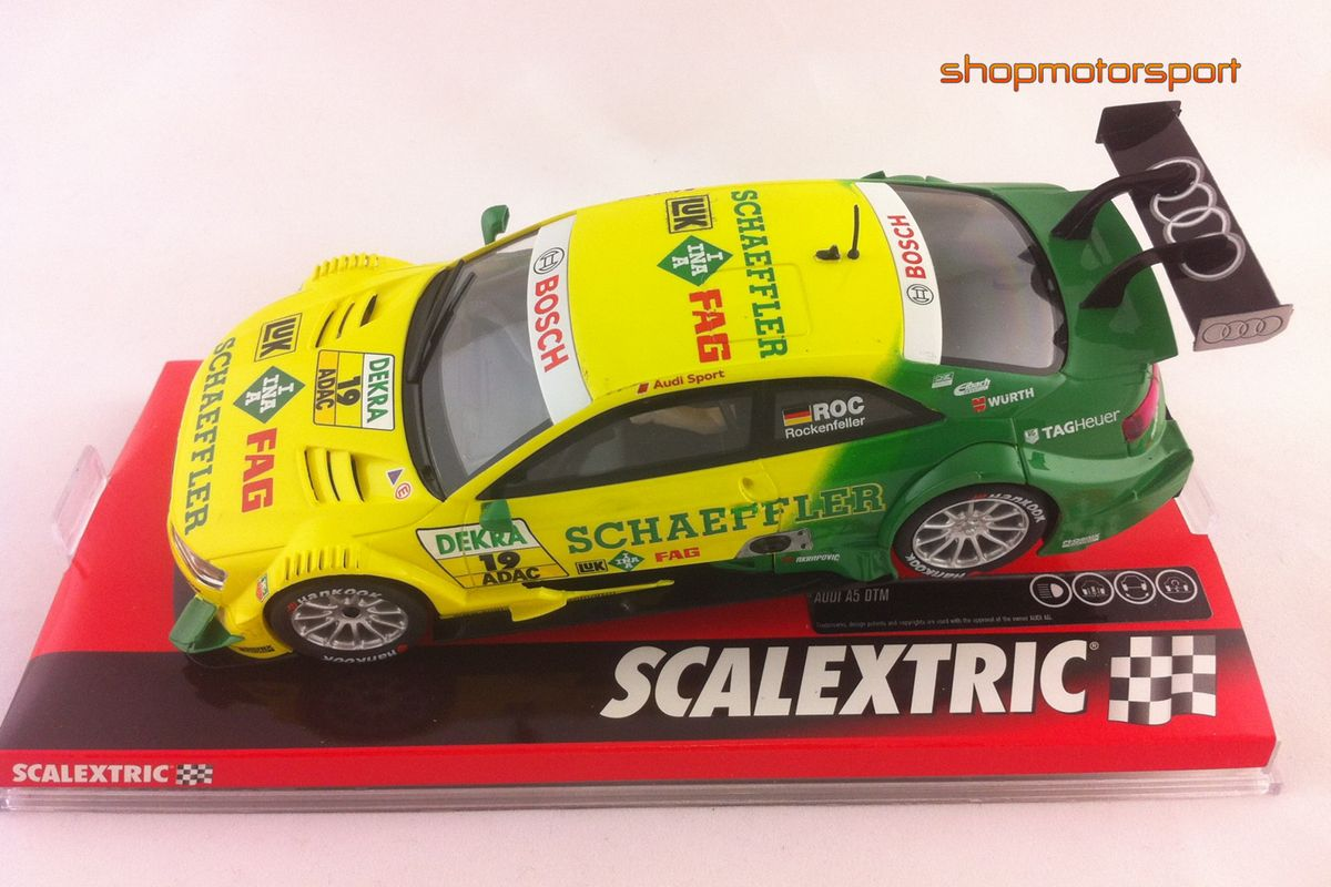 AUDI A5 DTM / SCALEXTRIC A10161S300 / MIKE ROCKENFELLER