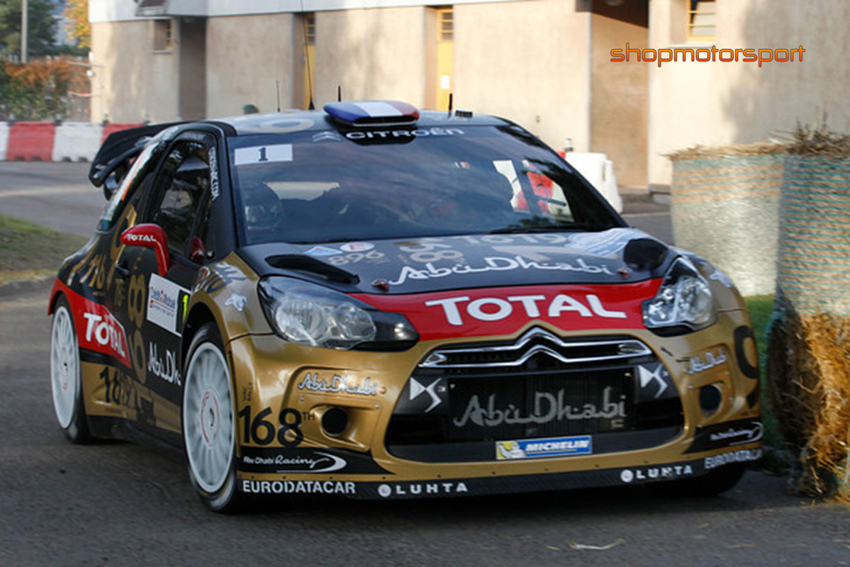CITROEN DS3 WRC / SCALEXTRIC A10208S300 / SEBASTIAN LOEB-DANIEL ELENA