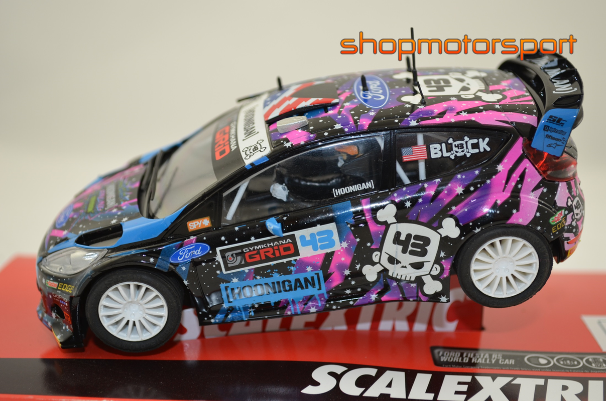 FORD FIESTA RS WRC / SCALEXTRIC A10209S300 / KEN BLOCK