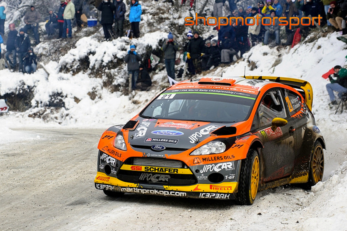 FORD FIESTA RS WRC / SCALEXTRIC A10216S300 / MARTIN PROKOP - JAN TOMÁNEK