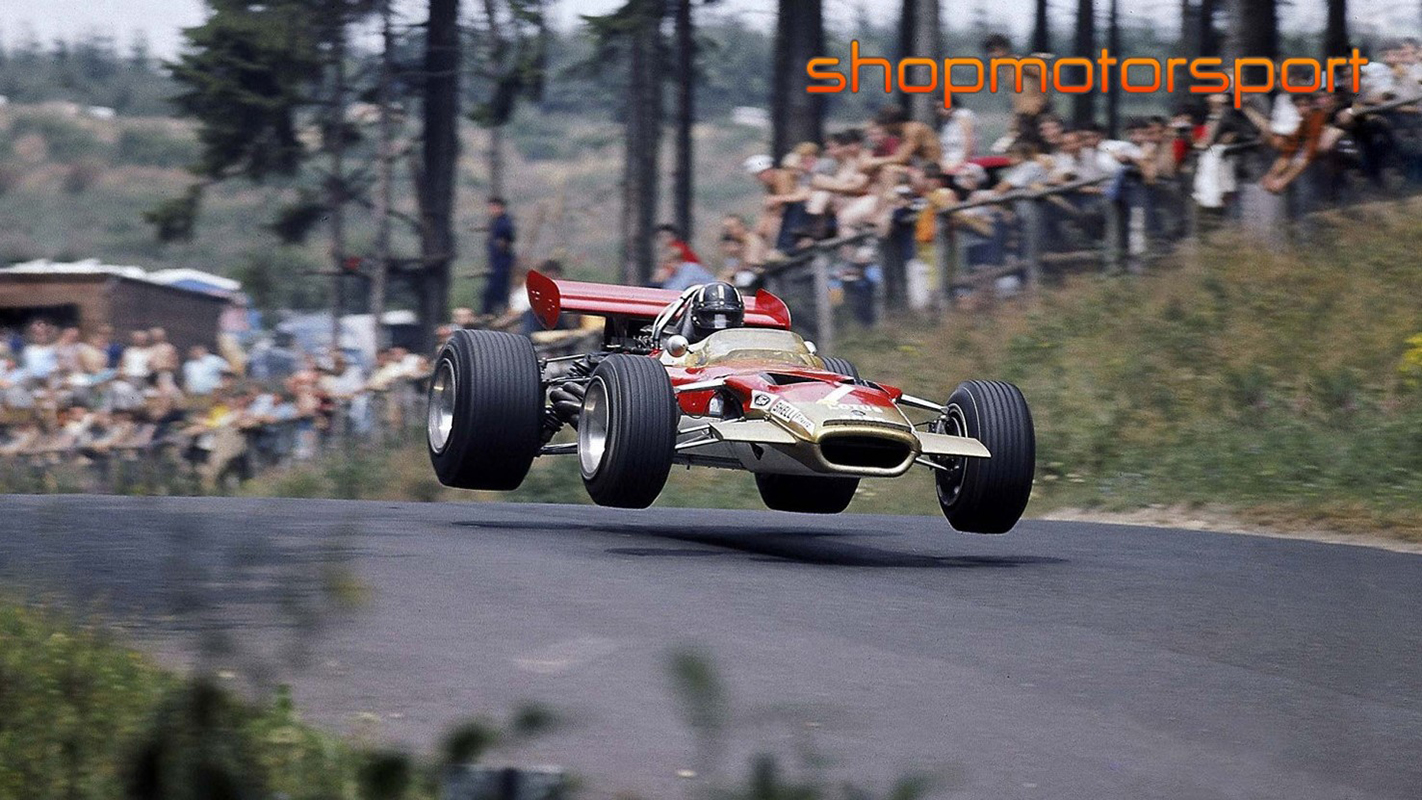LOTUS 49 / SCALEXTRIC SUPERSLOT 3701A / GRAHAM HILL