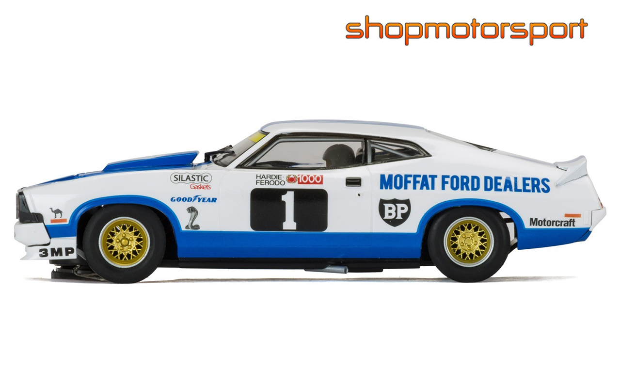 FORD XC FALCON / SCALEXTRIC SUPERSLOT 3741 / ALLAN MOFFAT-JACKY ICKX