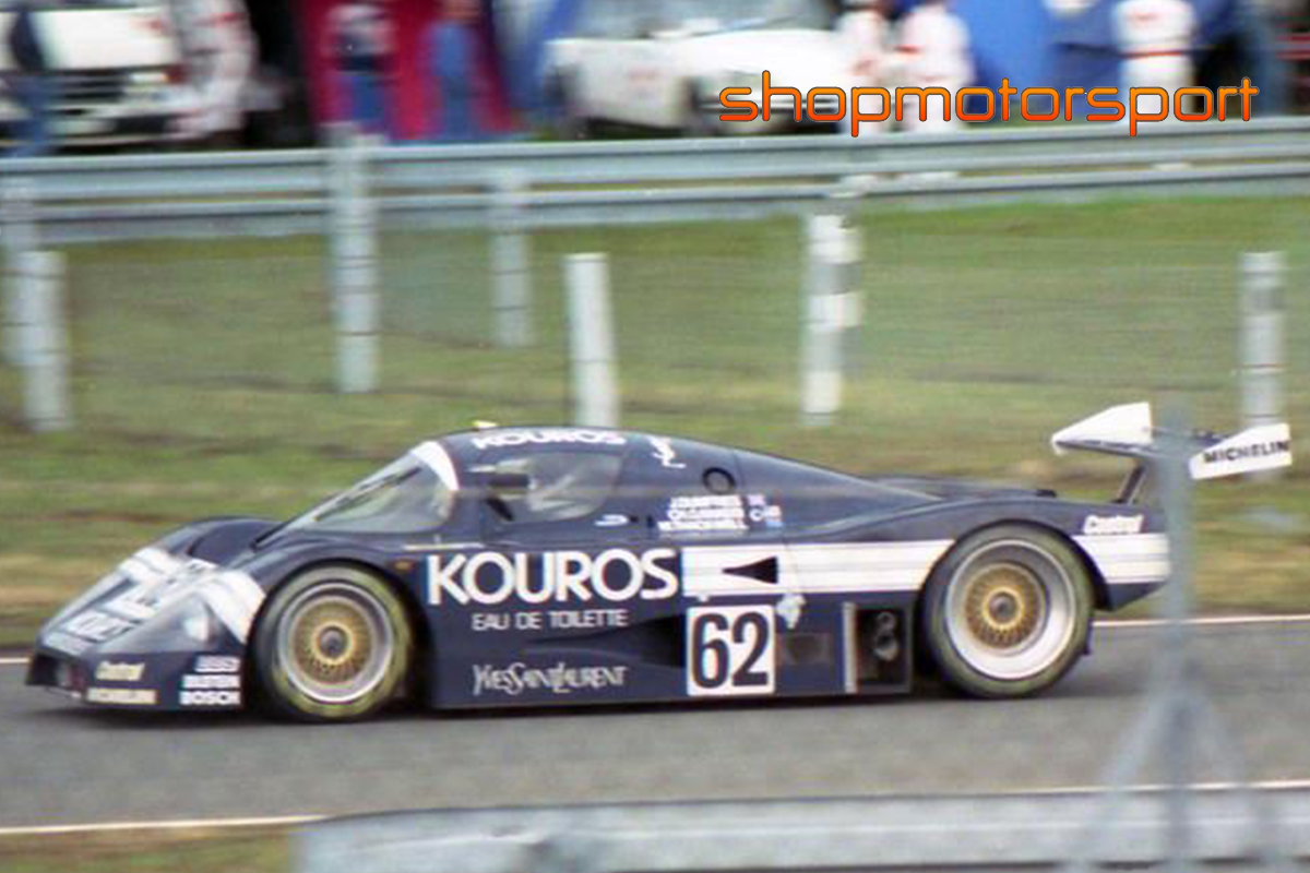 SAUBER MERCEDES C9 / SLOT.IT CA06H / CHIP GANASSI-JOHNNY DUMFRIES-MIKE THACKWELL