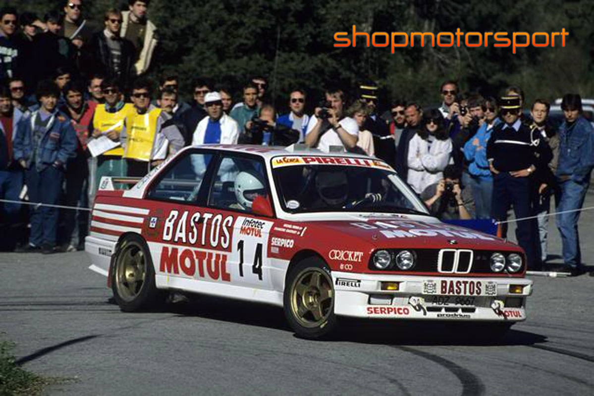 BMW M3 E30 / BEEMAX / FRANÇOIS CHATRIOT-MICHEL PERIN