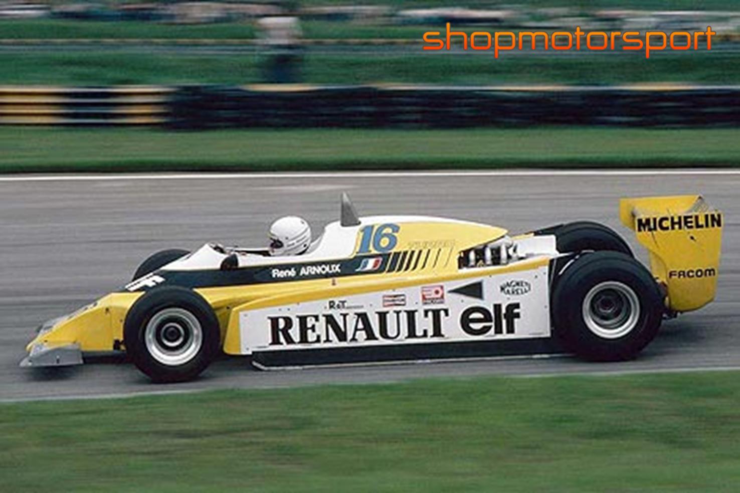 RENAULT RS10 F1 / SRC 02102 / RENE ARNOUX