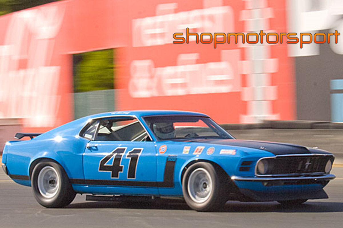 FORD MUSTANG BOSS 302 / SUPERSLOT 3613 / ED HINCHLIFF