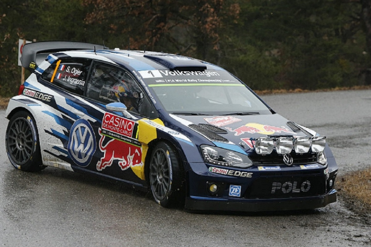 VOLKSWAGEN POLO R WRC / SUPERSLOT 3744 / SEBASTIAN OGIER-JULIEN INGRASSIA // OUT OF STOCK