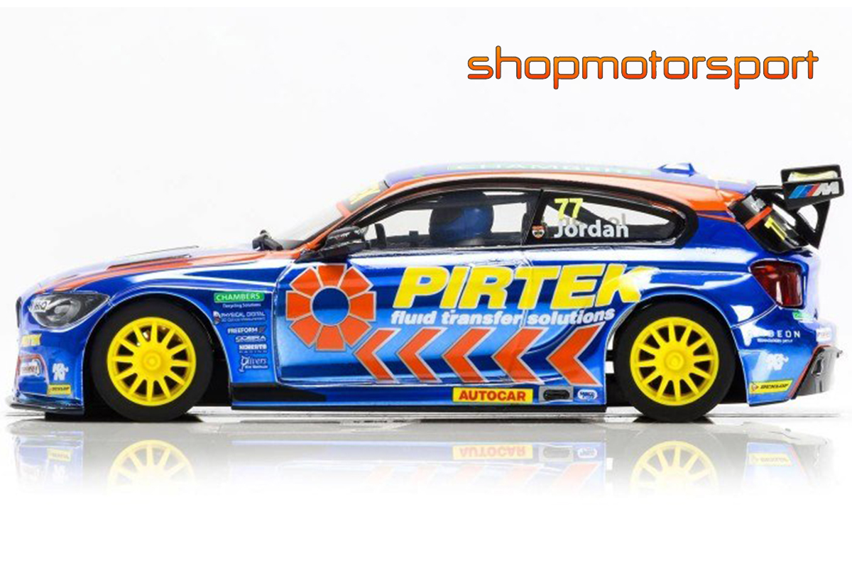 BMW 125 / SCALEXTRIC SUPERSLOT 3914 / ANDREW JORDAN