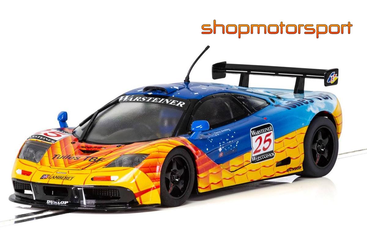 McLAREN F1 GTR / SCALEXTRIC SUPERSLOT 3917 / DAVID VELAY-JEAN-LUC MAURY-LARIBIÈRE