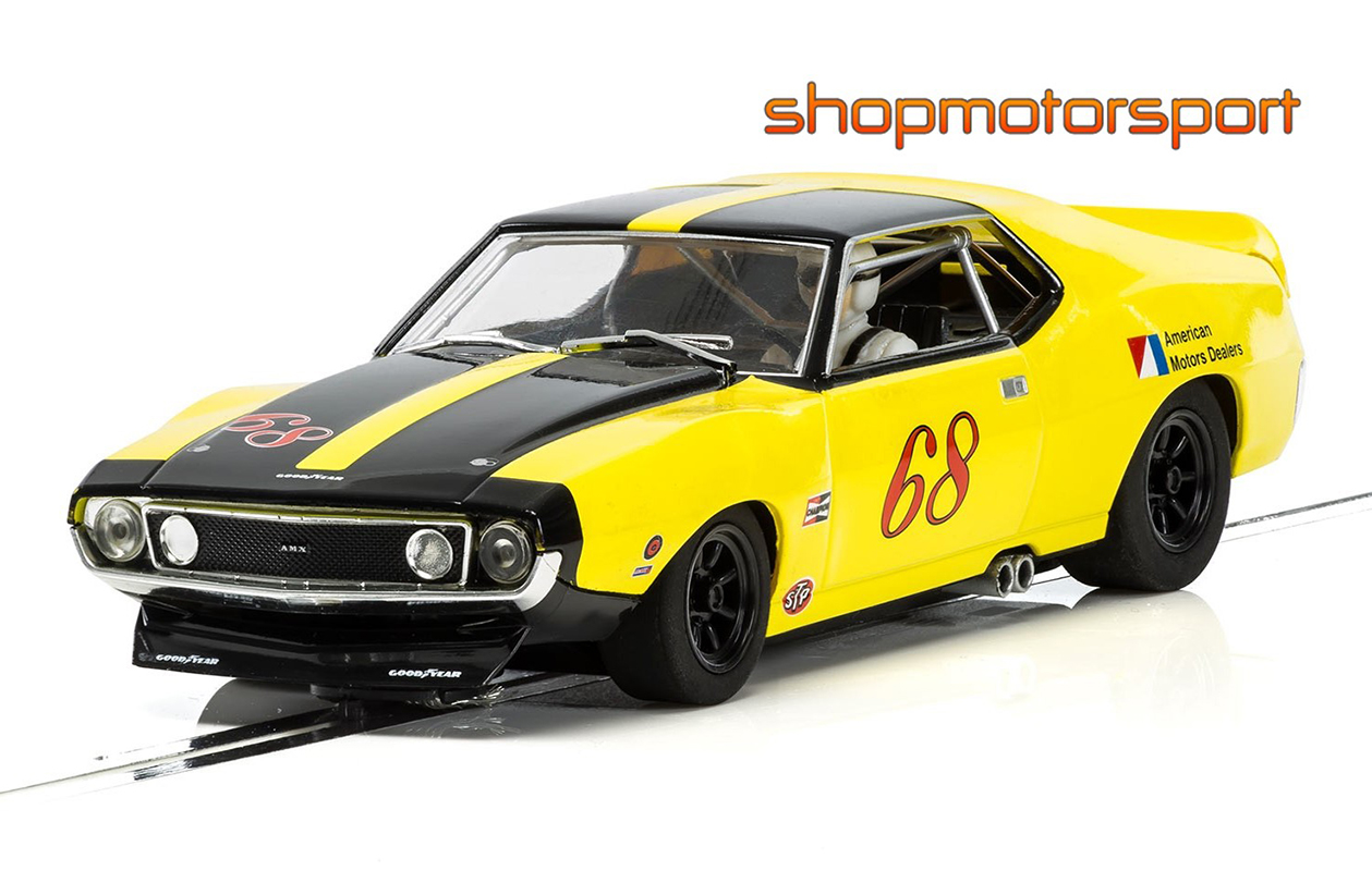 AMC AMX JAVELIN / SCALEXTRIC SUPERSLOT 3921 / ROY WOODS
