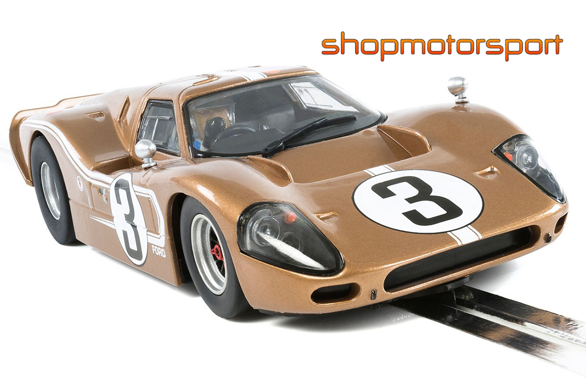 FORD GT MKIV / SCALEXTRIC SUPERSLOT 3951 / MARIO ANDRETTI-LUCIEN BIANCHI