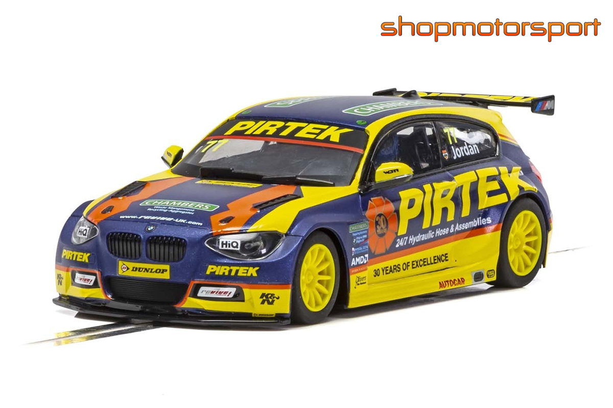 BMW 125 / SCALEXTRIC SUPERSLOT 4018 / ANDREW JORDAN