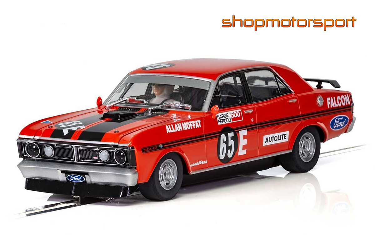FORD FALCON XY / SCALEXTRIC SUPERSLOT 3928 / ALAN MOFFAT