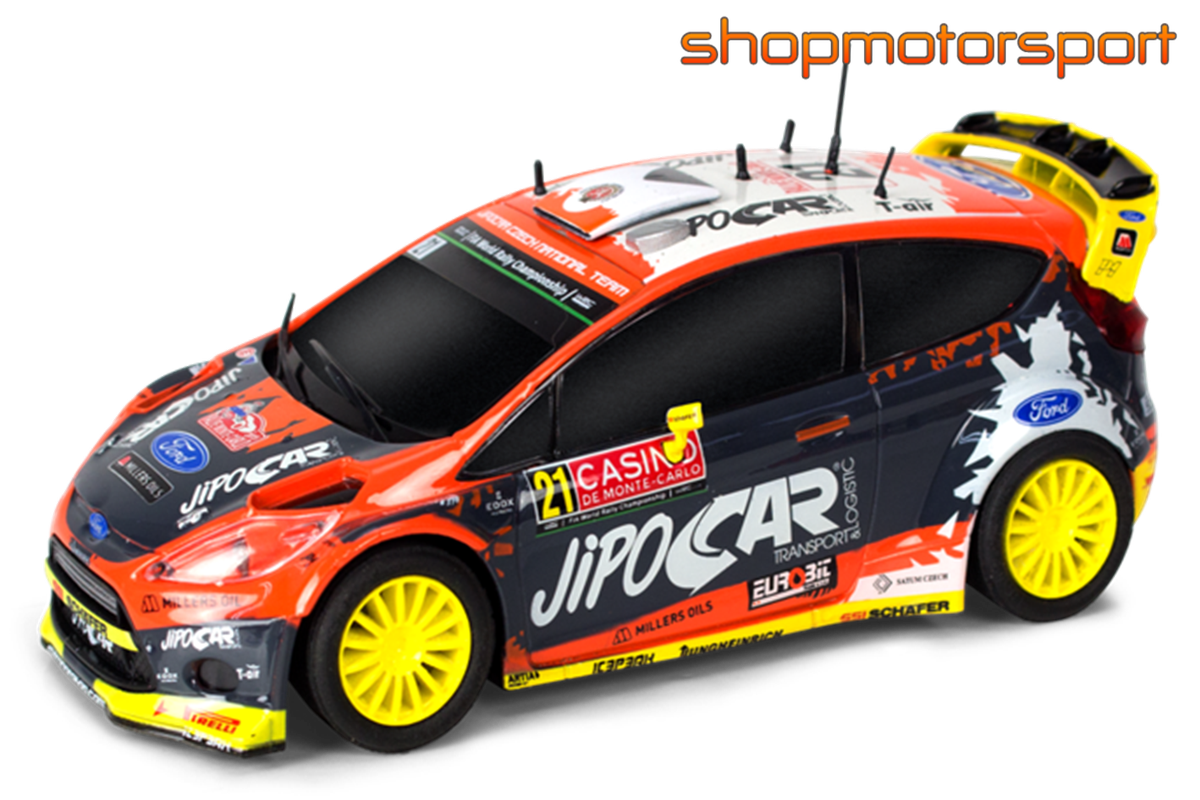 FORD FIESTA RS WRC / SCALEXTRIC COMPACT C10230X300 / MARTIN PROKOP - JAN TOMÁNEK