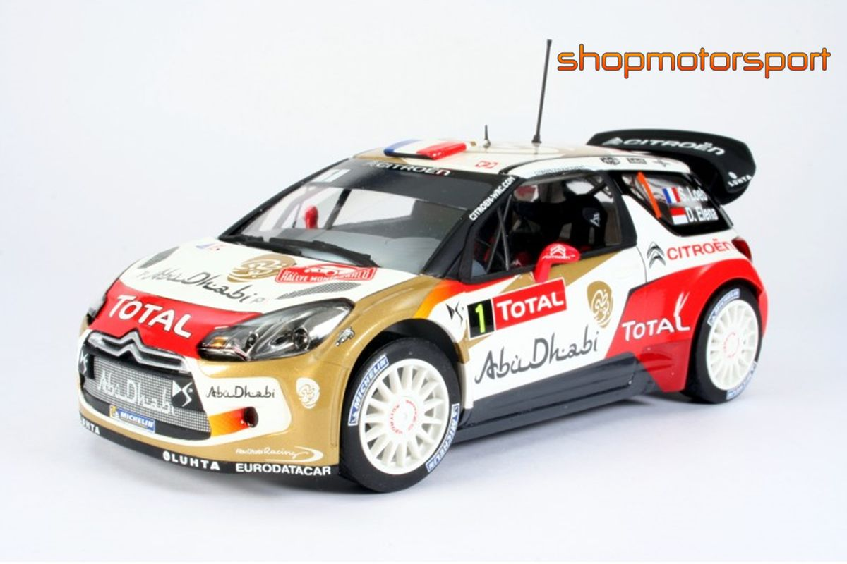 CITROEN DS3 WRC / HELLER 80758 / SEBASTIAN LOEB-DANIEL ELENA // OUT OF STOCK