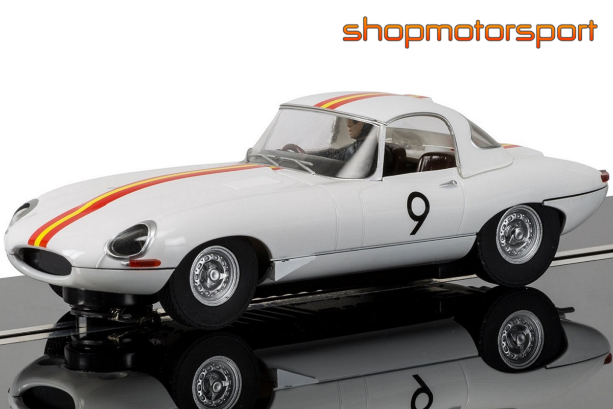 JAGUAR E-TYPE / SCALEXTRIC SUPERSLOT 3890 / BOB JANE