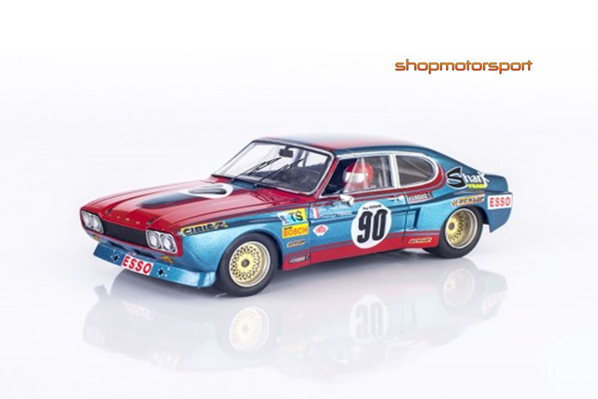 FORD CAPRI 2600 LV / SRC 00402 / JEAN CLAUDE GEURIE-DOMINIQUE FORNAGE // OUT OF STOCK