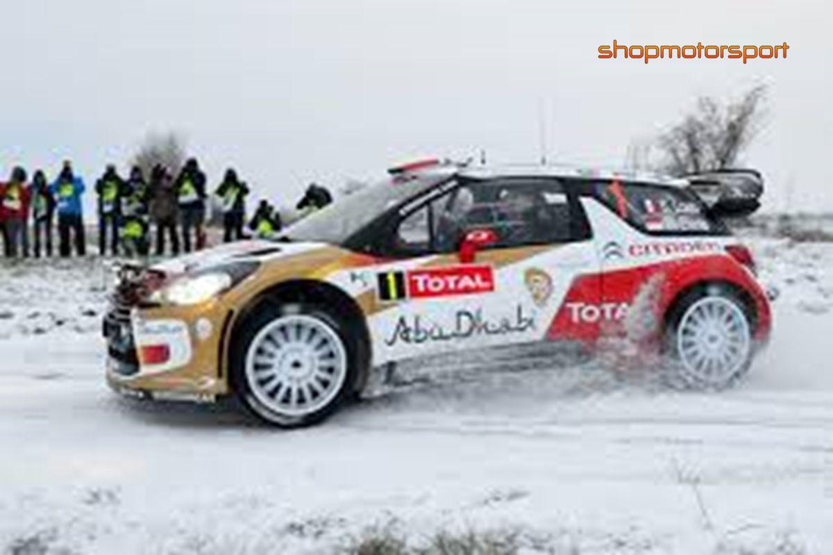 CITROEN DS3 WRC / SCALEXTRIC A10158X300 / SEBASTIAN LOEB-DANIEL ELENA