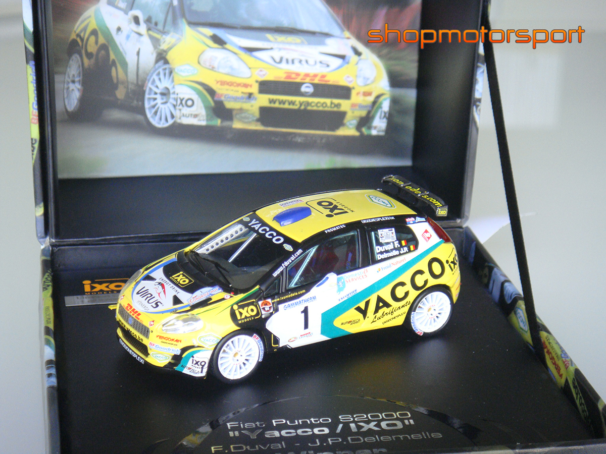 FIAT PUNTO S2000 / IXO RAM284 / FRANÇOIS DUVAL-JEAN PIERRE DELEMELLE